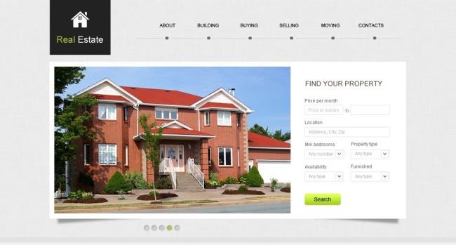 creare site-uri pentru agentii imobiliare