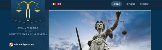 creare site firma avocat