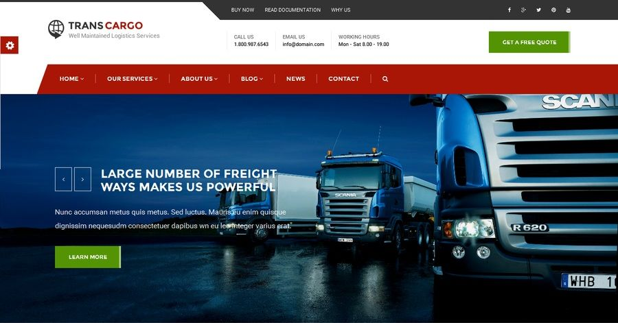 creare-site-firma-transport