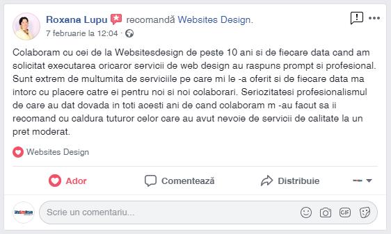 Testimonial Roxana Lupu
